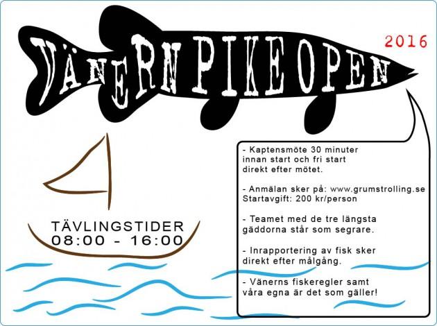 Vänern Pike Open
